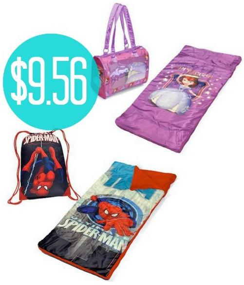 $9.56  Kids Character Sleepover Sets