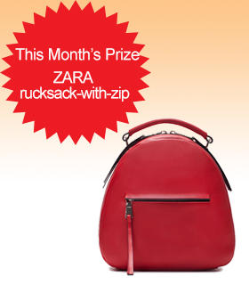 Subscribe to Dealmoon Newsletter,  Win the ZARA Rucksack-with-zip Bag!