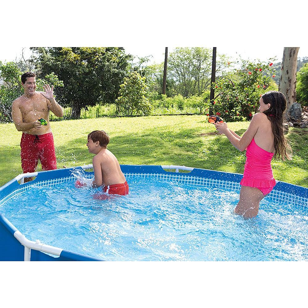 "$119.99 Intex 12' x 30"" Metal Frame Pool Set"