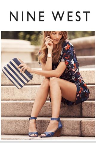 Extra 30% Off Sale Items or $20 off $100 New Arrivals @ Nine West