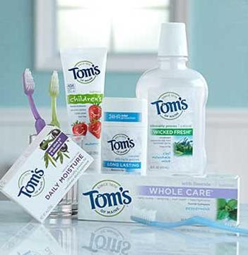 $2.00 Off! Great Deals for Tom's of Maine Toothpaste