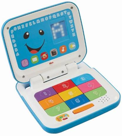 $12.99 Fisher-Price Laugh and Learn Smart Stages Laptop, Blue/White @ Amazon.com