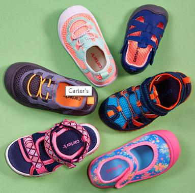 Up to 65% Off Carter's Kids Shoes Sale @ Zulily