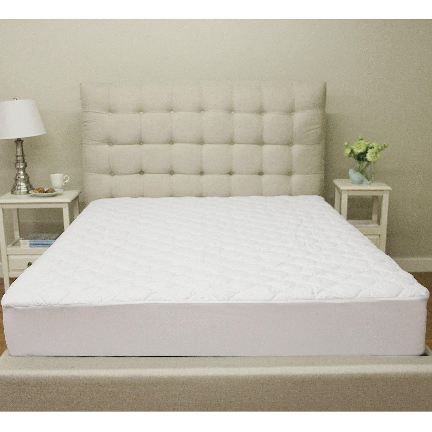 Classic Brands Defend-A-Bed Deluxe Quilted Waterproof Mattress Protector, Queen Size