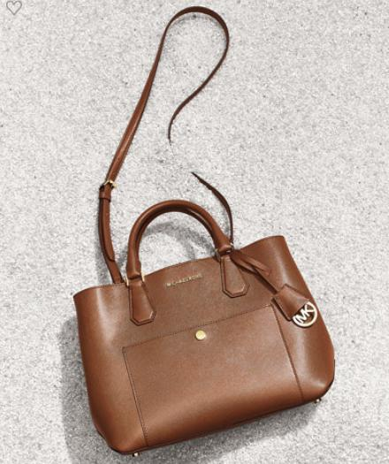 $206.7 MICHAEL Michael Kors Greenwich Large Leather Tote Bag