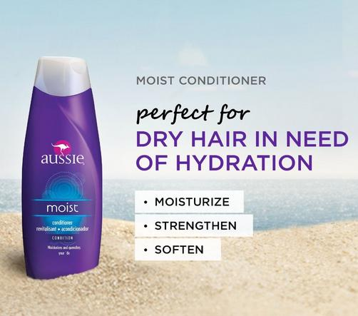 $11.94 Aussie Moist Conditioner 13.5 Fl Oz (Pack of 6)