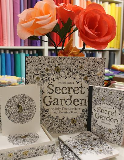 $9.76 Secret Garden: An Inky Treasure Hunt and Coloring Book
