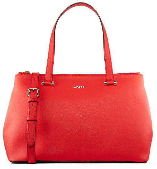 SAFFIANO LEATHER DOUBLE ZIP SHOPPER