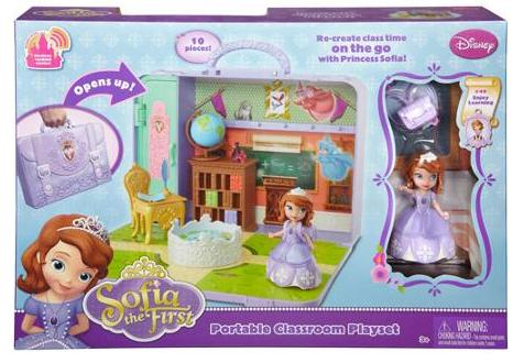 $12.87 Disney Sofia the First Portable Play Set @ Walmart.com
