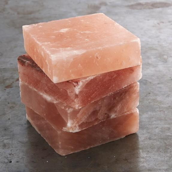 $9.98 Himalayan Salt Blocks, Set of 4