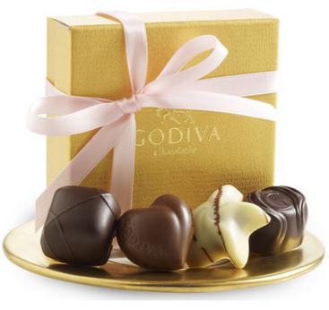 25% Off Select Chocolate and Gifts @ Godiva