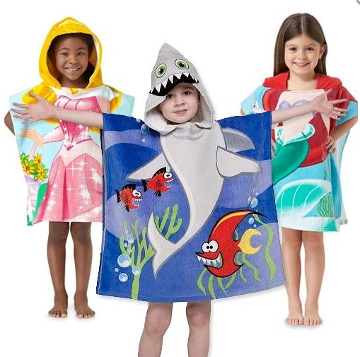 $7.99 Northpoint Kids 100% Cotton Hooded Towel for Boys & Girls @ GearXS