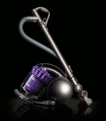 Manufacturer refurbished Dyson DC39 Multi Floor Bagless Canister Vacuum: Silver, Blue, Purple, Yellow