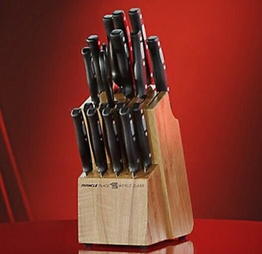 $29.99 World Class 18-Piece Knife Set with Wood Block