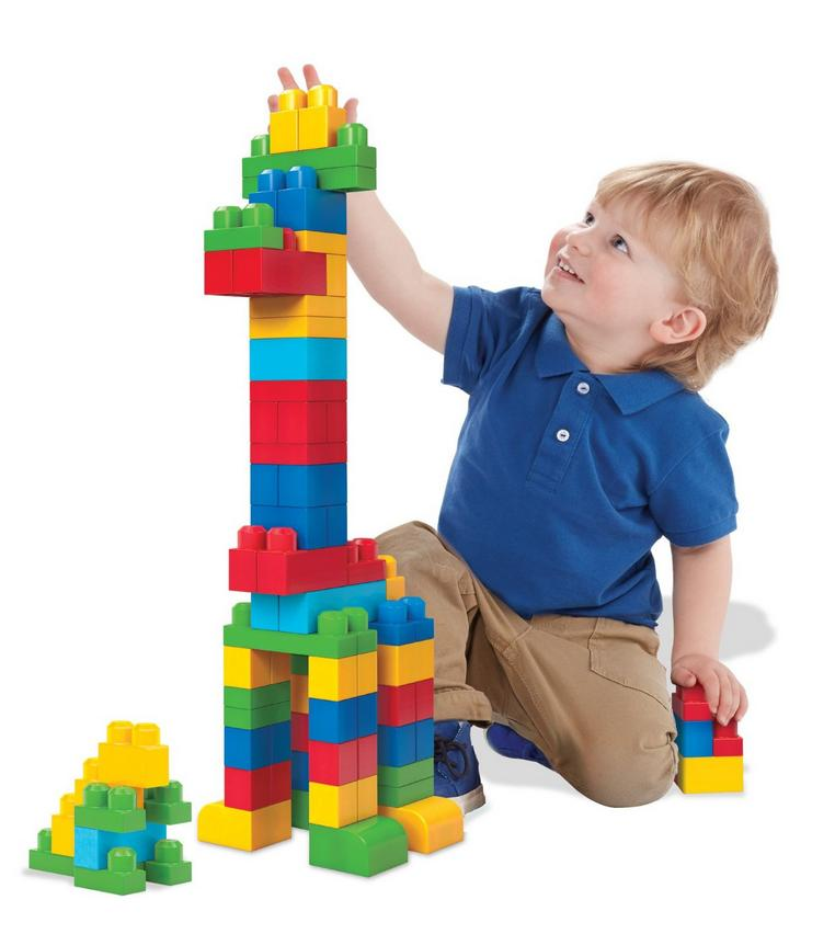 $14.88 Mega Bloks First Builders Big Building Bag, 80-Piece (Classic)