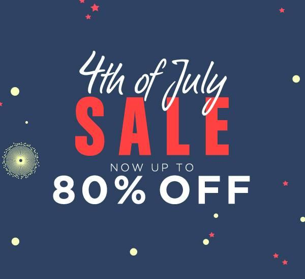 Up to 80% Off  4th of July Sale @ Bluefly