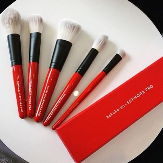 New Release Sephora launched New hakuho-do + SEPHORA PRO Brush Collection