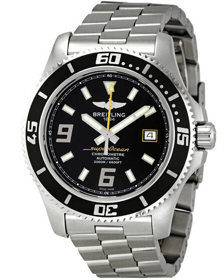 Breitling Superocean 44 Black Dial Automatic Men's Watch