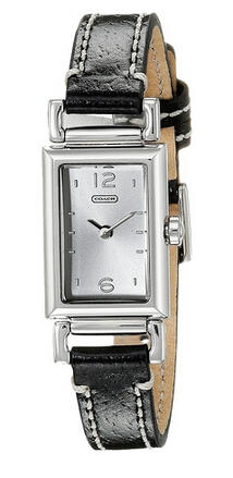 COACH Madison Leather Strap Watch