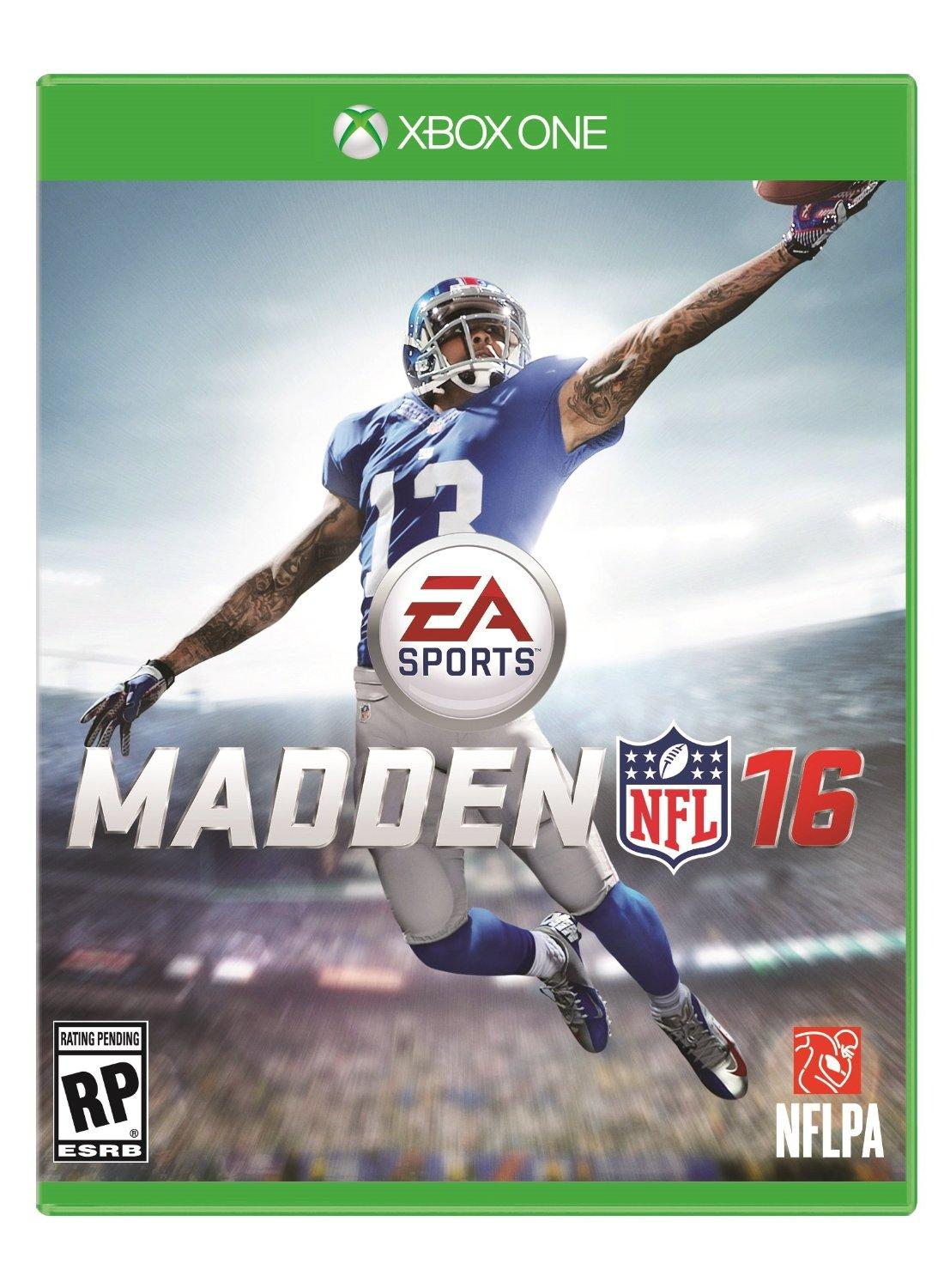 $45.02 Pre-order Madden NFL 16 - Xbox One