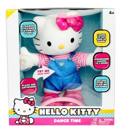 $7.59 Hello Kitty Dance Time Plush