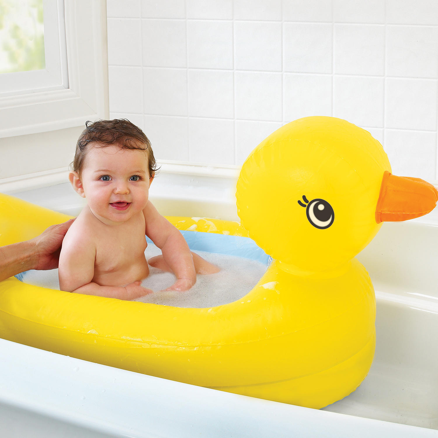 Munchkin White Hot Inflatable Duck Tub