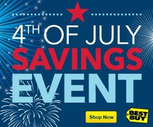 From $4.99 4th of July 4 Day Sale @BestBuy