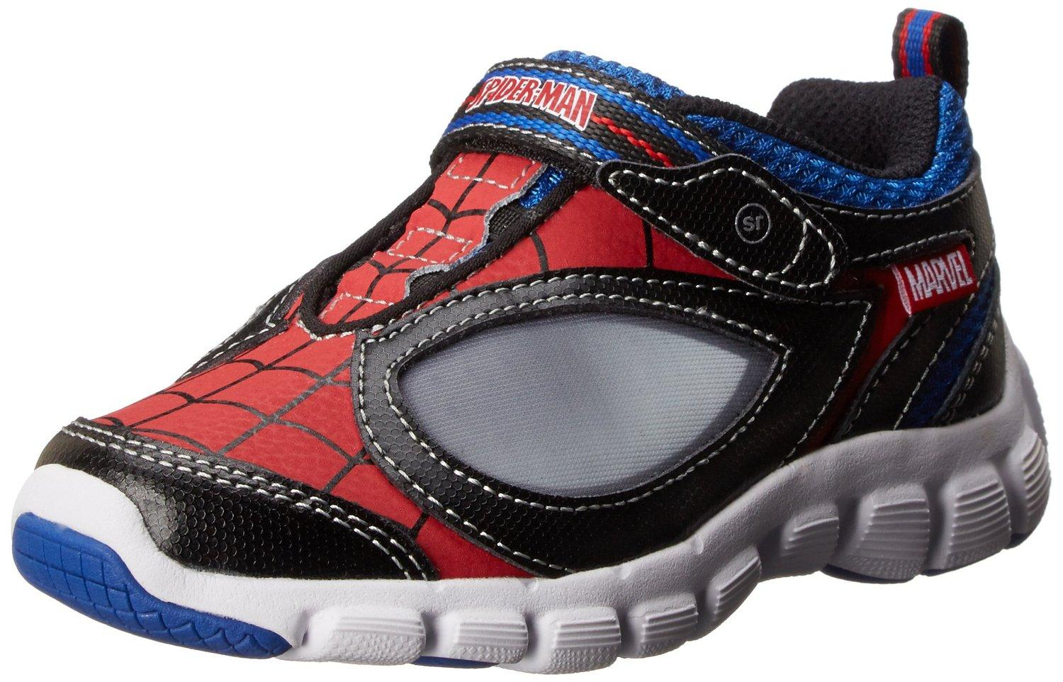 $16.77 Stride Rite Spider-Man Spidey Reflex Light-Up Shoe