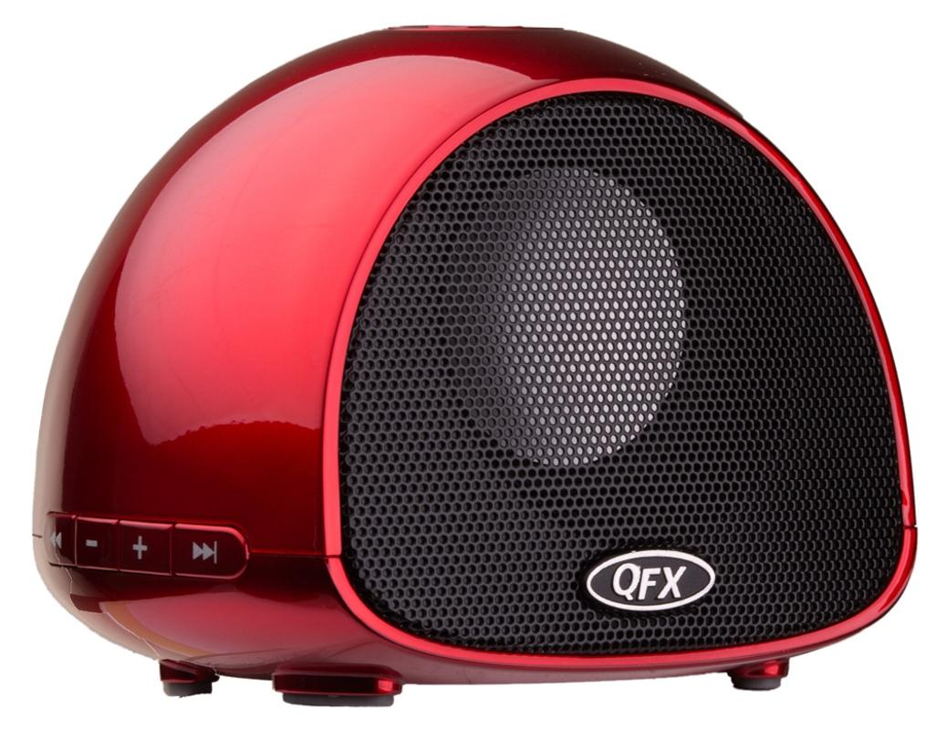 $19.97 QFX BT-100 Portable Rechargeable Bluetooth Speaker with Microphone