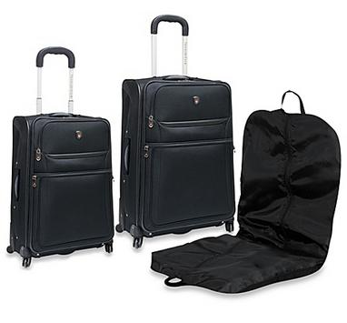 Travelers Club 3 Piece Expandable Luggage Set