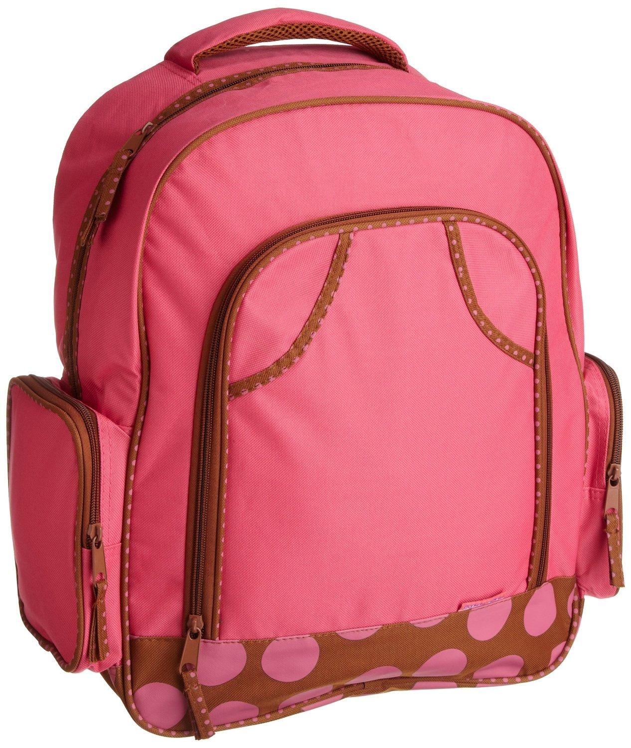 $12.84 Stephen Joseph Big Girls' Simply Stephen Joseph 17 Inch Backpack