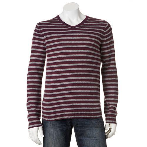 $13.2 Marc Anthony Striped Cashmere Sweater - Men