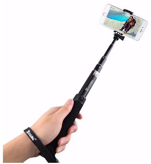 TWO for only $19.99 An outstanding new generation of Selfie Stick. Let's Twist-n-Lock!