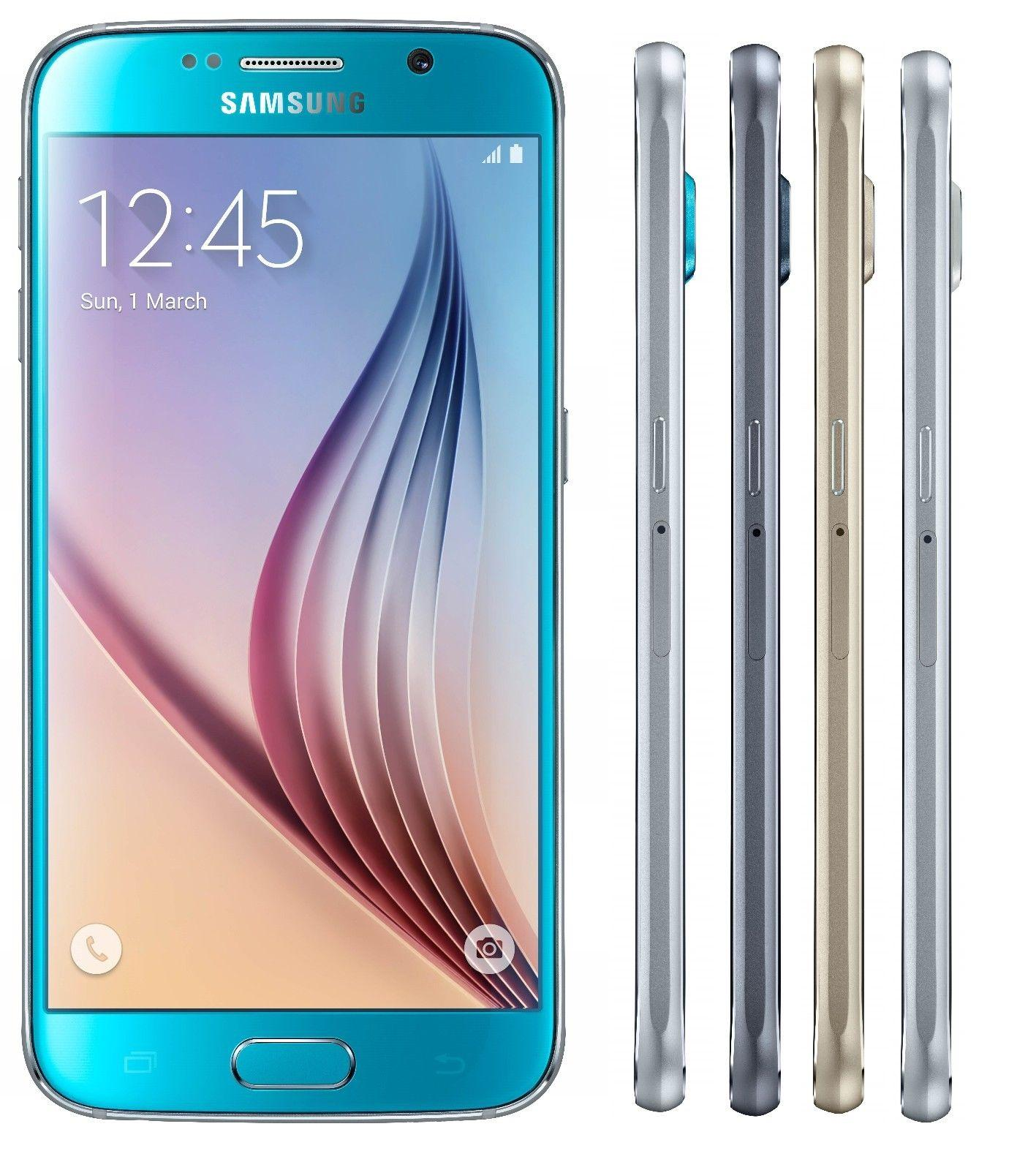 Samsung Galaxy S6 G920I 32GB Phone Factory Unlocked