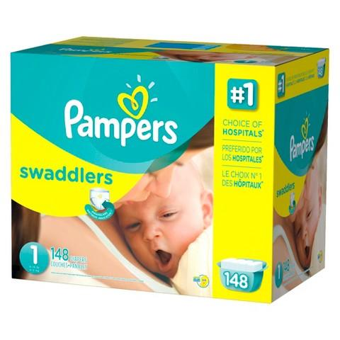 $209.94 6 packs of Pampers Swaddlers ...