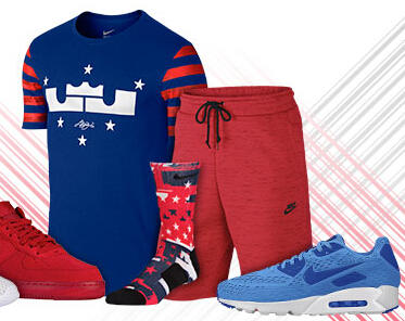 Up to 50% Off 4th of July Sale @ Foot Locker