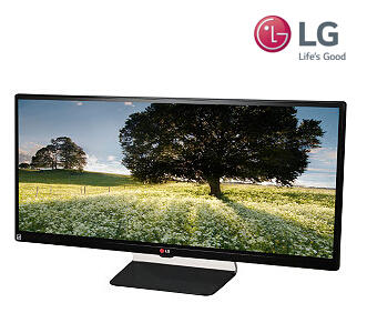 "$459.99 LG 34UM65 Black 34"" 5ms(GTG) Dual HDMI 21:9 UltraWide LED Backlight LCD Monitor"