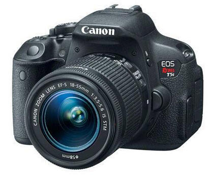 $449 Canon EOS Rebel T5i DSLR Camera with EF-S 18-55mm f/3.5-5.6 IS STM Lens + Pro-100 Printer