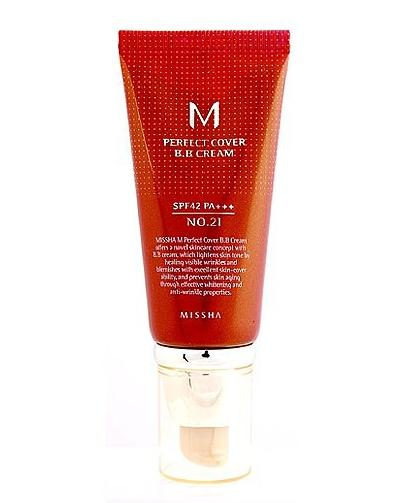 Missha M Perfect Cover BB Cream SPF 42 PA+++ No.21 Light Beige