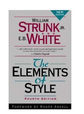 $5.18 英文作文必备用书 The Elements of Style (4th Edition)