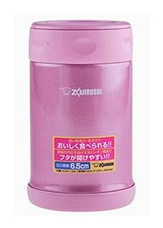 Zojirushi SW-EAE50PS Stainless Steel Food Jar 17-Ounce/0.5-Liter Shiny Pink