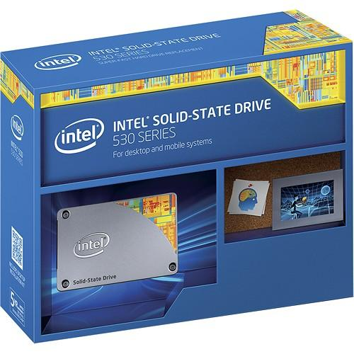 $99.99 Intel® - 530 Series 240GB Internal SATA Solid State Drive