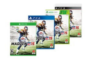 $19.99 Madden NFL 15 for Select Gaming Consoles