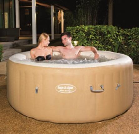$417.99 Bestway Lay-Z-Spa Palm Springs Inflatable Hot Tub
