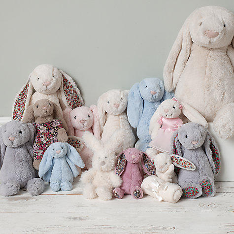 $22.50 Jellycat Bashful Grey Bunny, M...