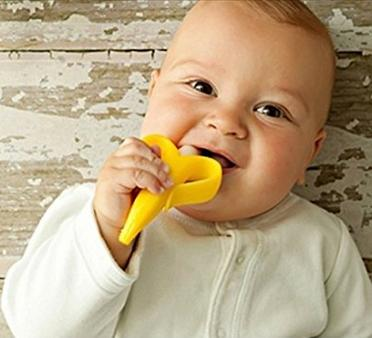 Baby Banana Bendable Training Toothbrush Infant