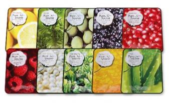 Missha Pure Source Sheet Mask Variety Pack (10pcs)