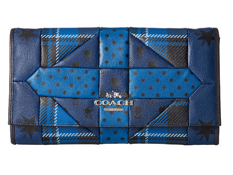 COACH Patchwork Crossgrain Clutch