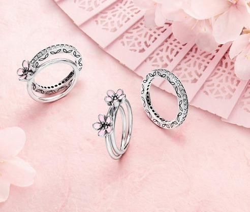 Free Ring With Purchase of Any Two Rings @ Pandora