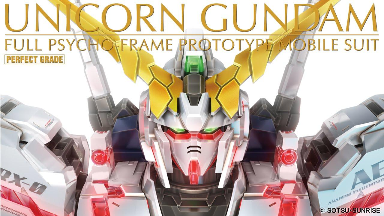 Bandai Hobby PG RX-0 Unicorn Gundam Model Kit (1/60 Scale)